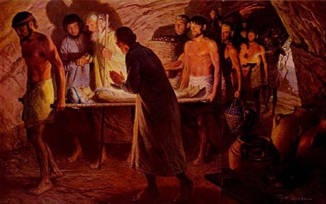 23 sarahs burial